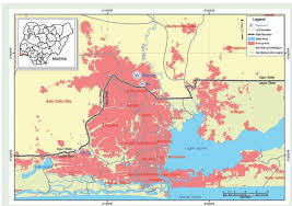 Nigeria State Map by This Is Lagos U2026city Of Aquatic Splendour Dry Taps The Nation Nigeria