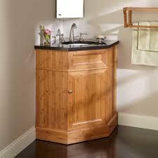 bathroom gold modern corner bathroom vanity with wall cabinet and