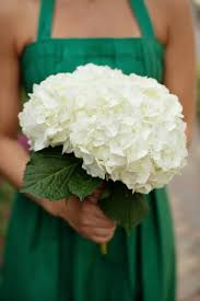 white hydrangea bouquet bonnieprojects wedding bouquets on a budget