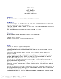 Paralegal Resume Example Certified Paralegal Resume