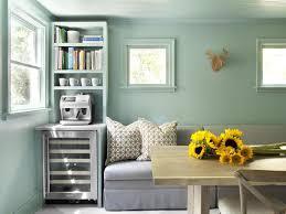 Retro Livingroom Living Room Neutral Wooden Living Room Features Mint Green Sofa As