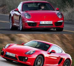 porsche cayman s vs boxster s porsche 911 vs cayman s elite auto report