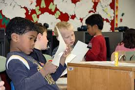 waterman second graders learn reason for thanksgiving via webcast