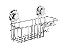 rustproof suction cup bathroom shower caddy basket holder shampoo