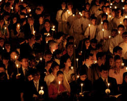 vigil lights catholic church pope s easter vigil homily we celebrate the first day of the new