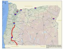 map of oregon i 5 oregon s work zone traffic analysis program presentation fhwa