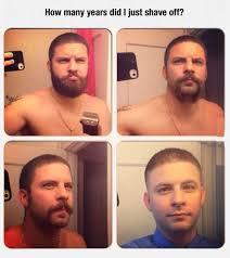 Beard Shaving Meme - another beard shaving miracle imglulz