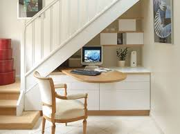 am駭agement bureau sous escalier un bureau sous les escaliers blanc bois pratique http m