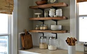 Wooden Wall Shelves With Brackets Go Creative With Diy Wall Shelves In Your Interior Homesfeed