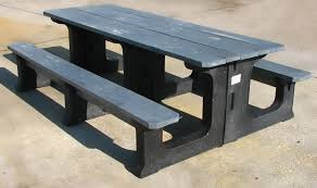 Picnic Benches For Schools Recycled Plastic Furnishings And Marine Products Eco Friendly