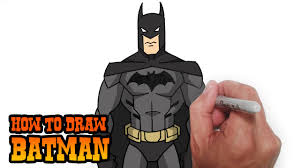 how to draw batman young justice video lesson youtube