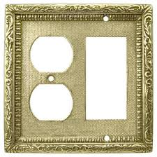 restoration hardware light switch plates victorian decorative plug and gfi switch cover plate l w22