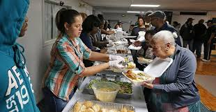 thanksgiving dinner volunteer opportunities index says us most generous to charities