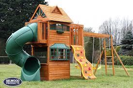 backyard wood swing sets lowes backyard and yard design for village