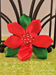 craft ribbon ribbon poinsettia my pinning obsession