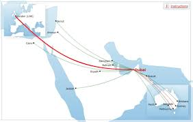 Dubai India Map by Qantas Has Been Warned That Dubai To London Flights Could Be At