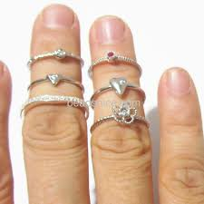 knuckle rings silver images Wholesale sterling silver knuckle ring jpg