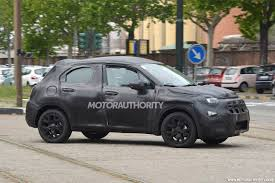 fiat jeep 2016 2016 fiat 500x spy shots