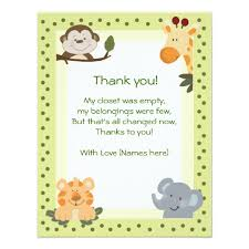 thank you cards baby shower baby shower thank you notes elephant baby shower thank you card 8