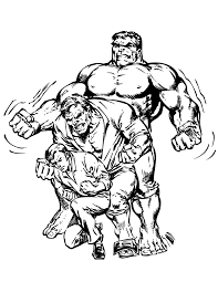 incredible hulk morphing coloring u0026 coloring pages