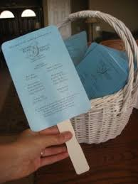 Diy Wedding Fan Programs Diy Wedding Program Fans Someday I U0027ll Learn