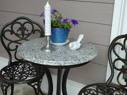 Granite Top Bistro Table Finding A Replacement Table Top For An Outdoor Table
