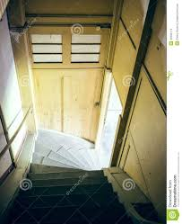 attic staircase with sunlight stock photo image 40332174