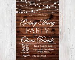 going away party invitations travel party farewell party invitation envelope postcard