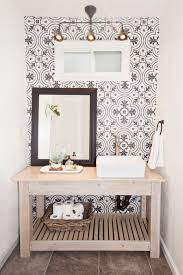 Half Bathroom Remodel by Half Bath With Full Style Bathroom Remodel Reveal The Home