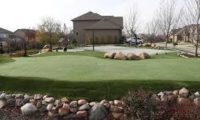 Putting Green In Backyard by Hero Fights Hoa To Keep Putting Green Sand Trap In His Backyard