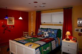 Red Curtains In Bedroom - bedroom how to decorate bedroom in your house with boys room