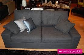 canapé en tissu gris canapé tissu gris