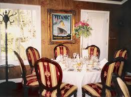 relevant tea leaf last dinner on the titanic