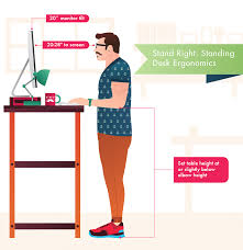 Diy Stand Up Desk Best Standing Desk Reviews Of 2018 Reviews