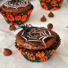 cooking with manuela homemade halloween brownie cupcakes recipe