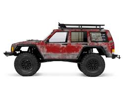jeep cherokee baja axial 2000 jeep cherokee primer series body wrap flame red by