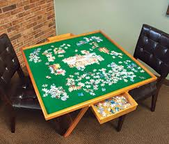 jigsaw puzzle tables portable jigsaw puzzle table with drawers portable jigsaw game table jigsaw