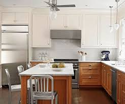 best white paint for maple cabinets cures for a maple orange kitchen emily henderson