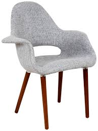 chairs eames saarinen organic upholstered arm chair classic