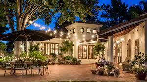 outdoor string lights 20 beautiful outdoor string lights set up home design lover