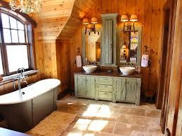 rustic bathroom lighting ideas choosing rustic bathroom lighting