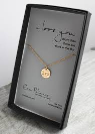 gold personalized pendant necklace initials anniversary gifts