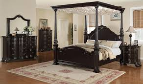 Black King Canopy Bed Awesome Canopy Bed Design Black King Comfort And Classic In Set