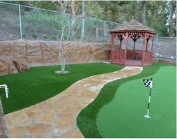 Putting Turf In Backyard Green R Turf Artificial Grass Landscapes Putting Greens Pet Turf
