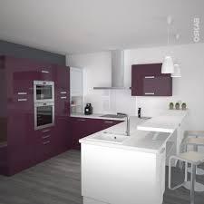 meuble de cuisine aubergine meuble de cuisine aubergine avec meuble cuisine design pose cuisine