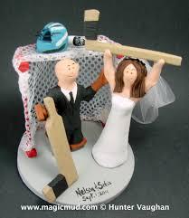 hockey cake toppers hockey wedding cake toppers idea in 2017 wedding