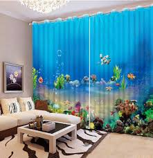 Ocean Decorations For Home by Compare Prices On Ocean Window Curtains Online Shopping Buy Low