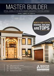 2015 master builders western australia magazine july august by