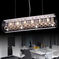 Mother Of Pearl Pendant Light by Clear Crystal Pendant Light With Cylindrical Glass Shade