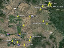 Wsu Map Salt Scientists Solve Milky Rain Riddle Wsu News Washington